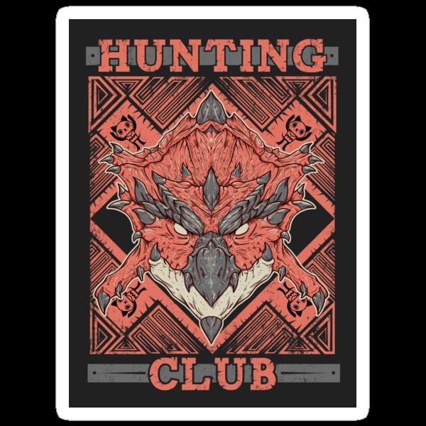 Hunting Club: Rathalos by MeleeNinja