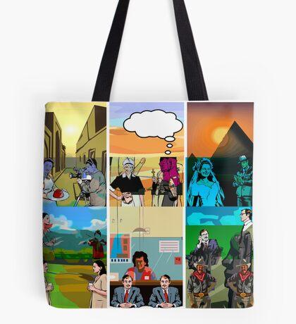Triptych triptych Tote Bag