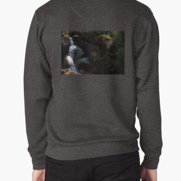 Falling Into The Ladies' Bath Pullover Sweatshirt