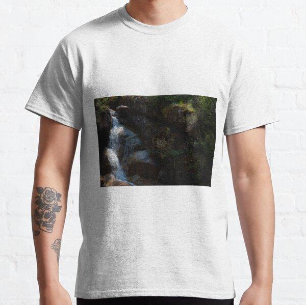 Falling Into The Ladies' Bath Classic T-Shirt