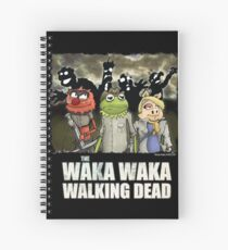 The Waka Waka Walking Dead Spiral Notebook