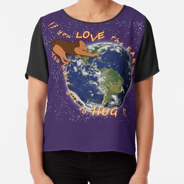 Hug the Earth Chiffon Top