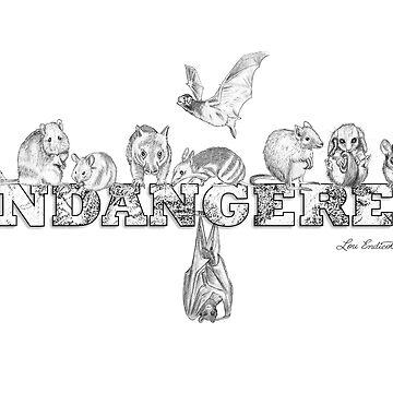 Endangered Australian Animals by louendicott