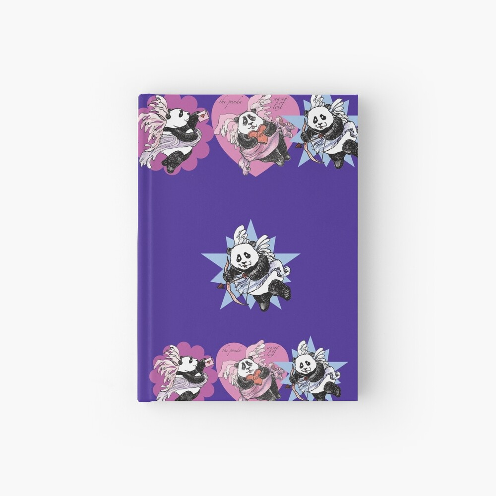 It's the Panda Season of Love! Hardcover Journal