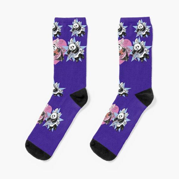 It's the Panda Season of Love! Socks