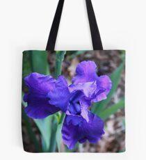 Blue Florescence Tote Bag
