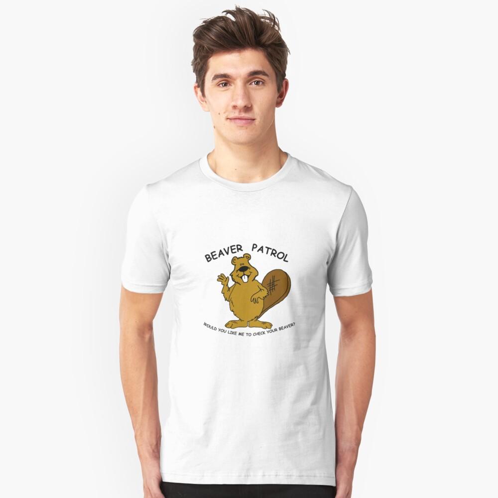 Beaver Patrol  Slim Fit T-Shirt