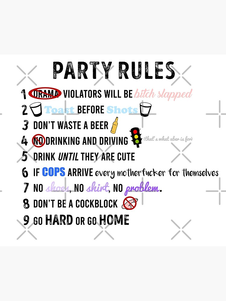 Party Rules by alexvoss