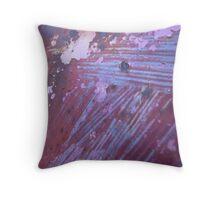 Ephemeral .... Abstract Found Art #03  Throw Pillow