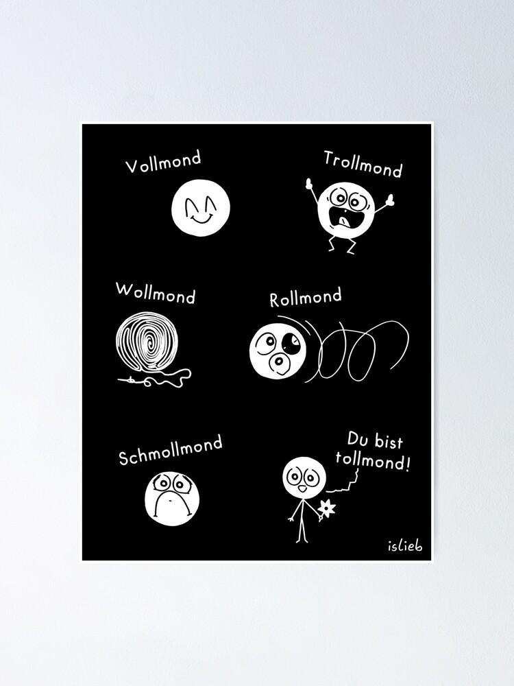 Alternative Ansicht von Bevollmondung islieb Comic Poster