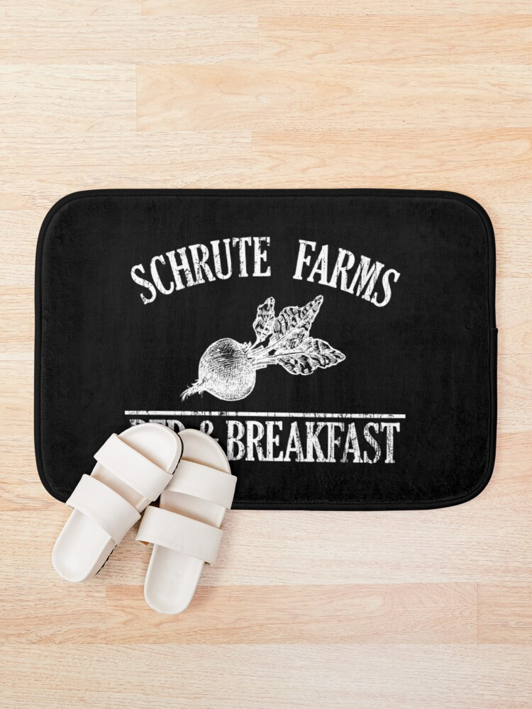 Alternate view of Schrute Farms Sweatshirt | Schrute Farms Bed and Breakfast Sweater Bath Mat