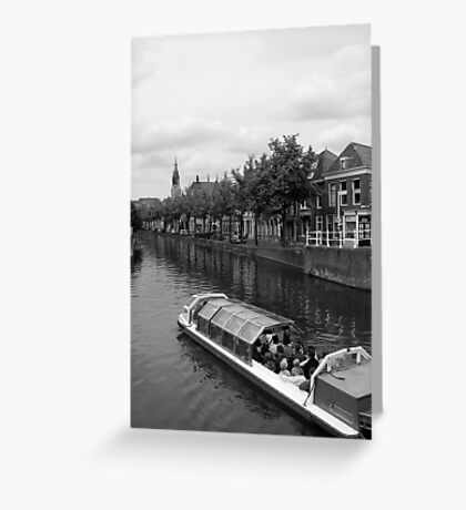 to delft  Greeting Card