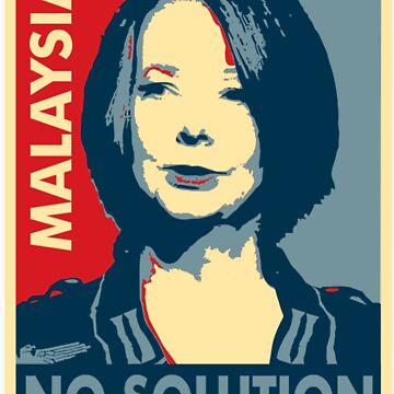 Julia Gillard - No solution  by DocMiguel