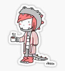 Virgosaurus Sticker
