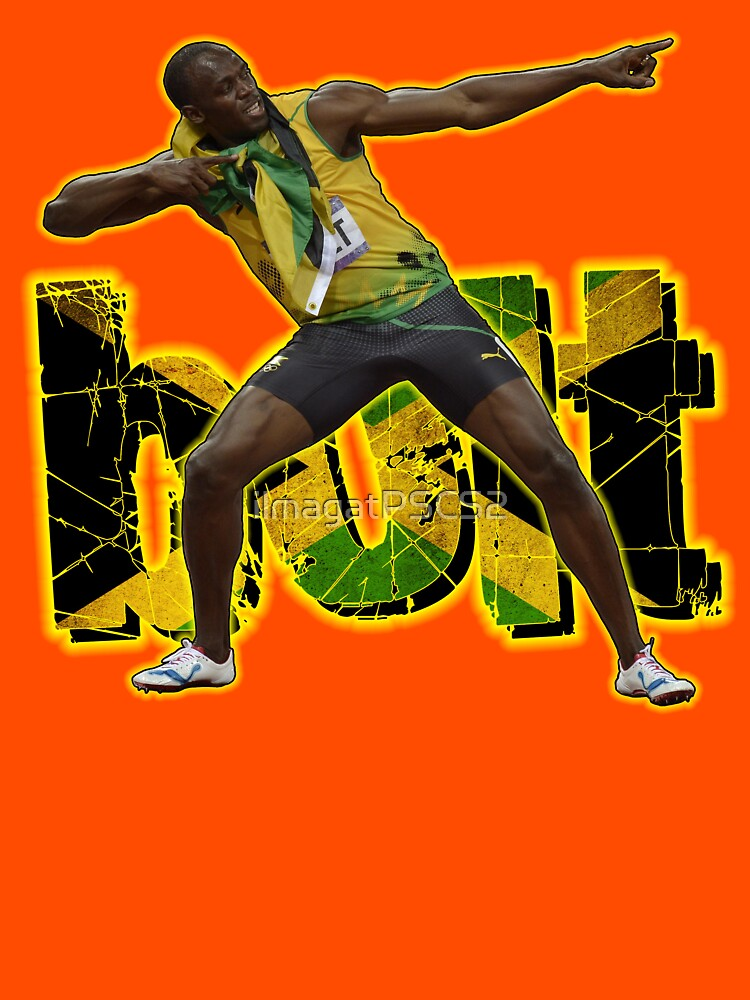 TShirtGifter presents: Usain Bolt Tribute #2 | Unisex T-Shirt
