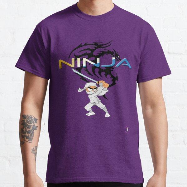 Retro Ninja 2 Classic T-Shirt