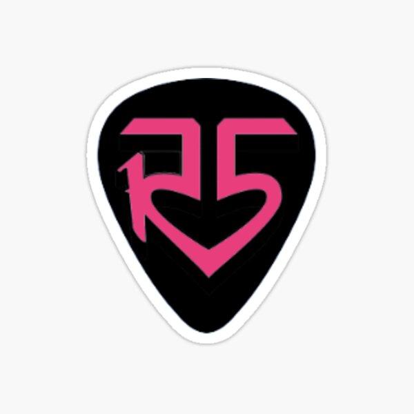 R5 Guitar Pick Pegatina