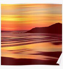 Sleep Tight Sunset Poster
