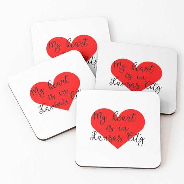 My Heart is in Kansas City  Coasters (Set of 4)