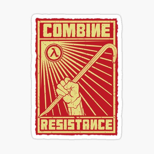 Combine Resistance Sticker