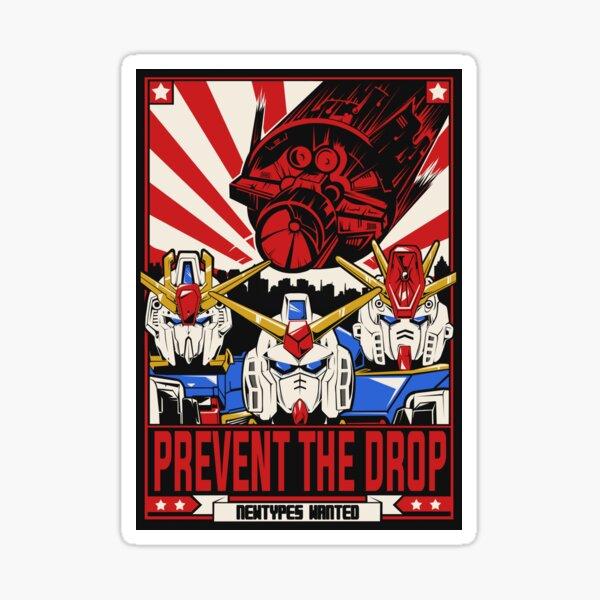 Prevent the Drop Sticker