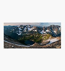 Sahale Arm - North Cascades N. P. Photographic Print
