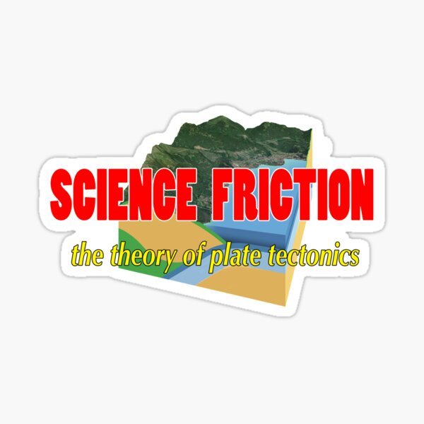 Science Friction Sticker