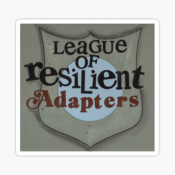 League Of Resilient Adapters Sticker