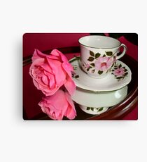 ROSE-CUP Canvas Print