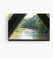 View from the Bridge Canvas Print