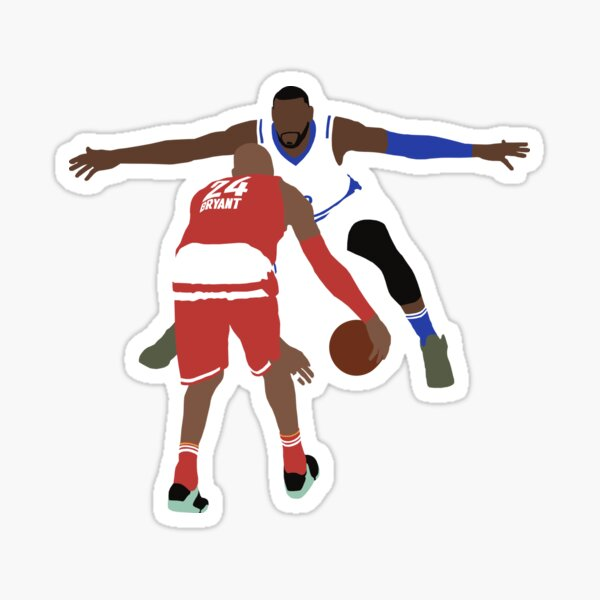 LeBron and Kobe All Star Sticker