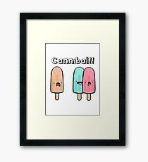 CANNIBAL! Framed Print
