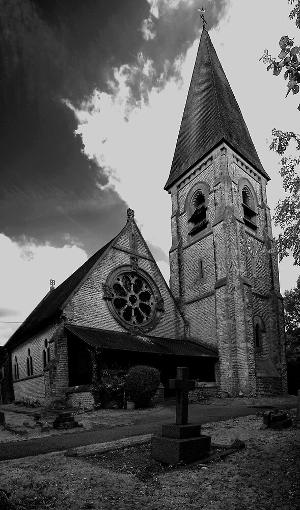 St Michael And All Angels, Lowfield Heath by Dave Godden