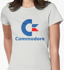 Classic Commodore C64 Graphic Tee Women's Fitted T-Shirt