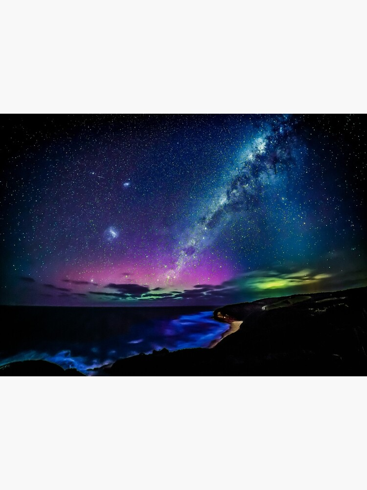 Bells Beach Aurora Australis by RussellCharters