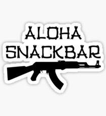 Pegatina Aloha Snack Bar