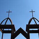 City of Crosses, Las Cruces, New Mexico by CynLynn