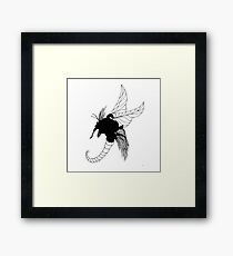 The Shrewd Framed Print