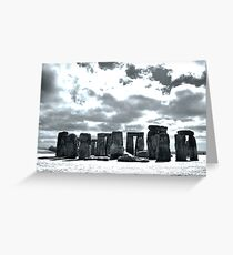 Stone worship Greeting Card