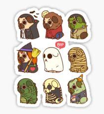 Puglie Halloween Sticker
