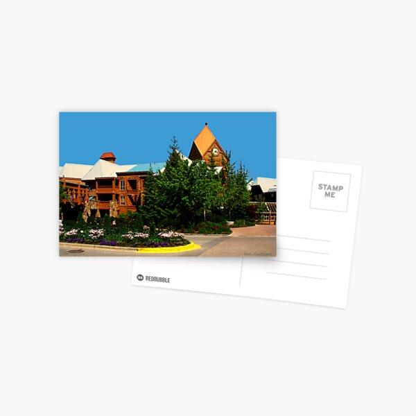 View of Whistler Village Postcard
