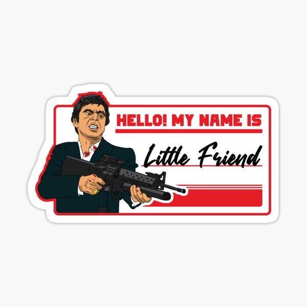 Little Friend Sticker
