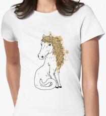 Horsecat Women's Fitted T-Shirt