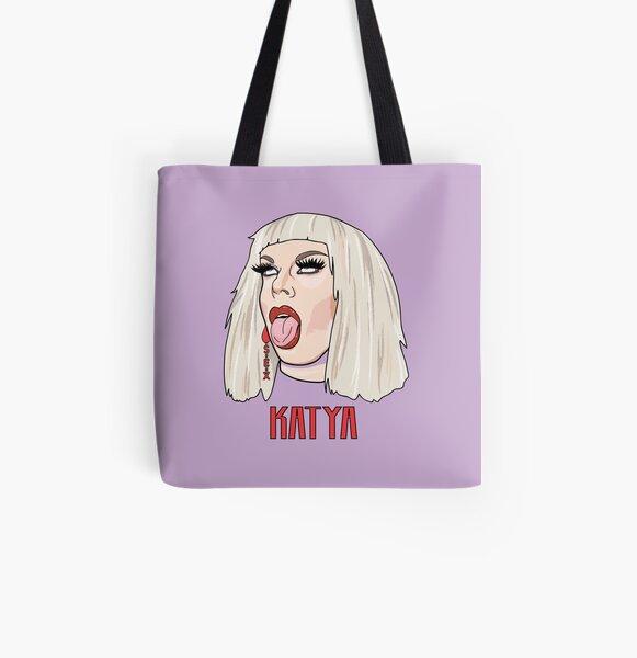 Katya All Over Print Tote Bag