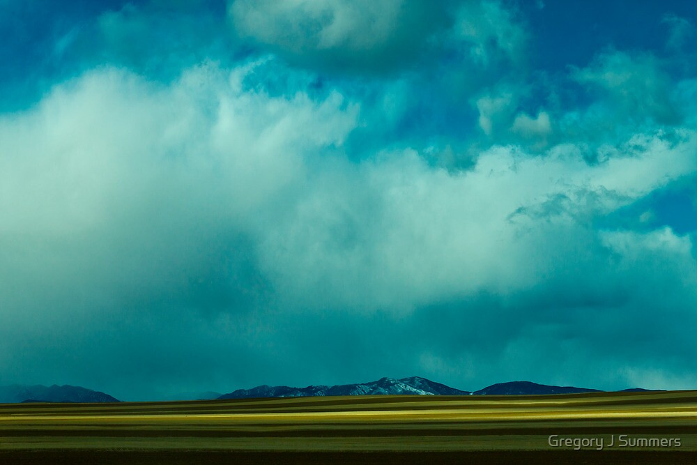 Storm Across Moves Across The Plains by Gregory J Summers