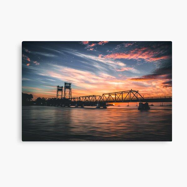 Batemans Bay Bridge Sunrise Canvas Print