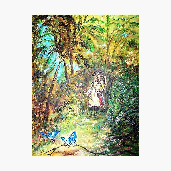 BUTTERFLY CATCHER  Photographic Print