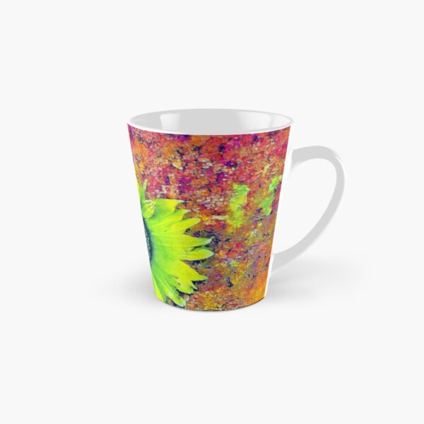 Abstract sunflower Tall Mug