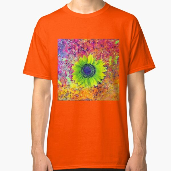 Abstract sunflower Classic T-Shirt