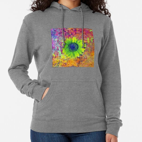 Abstract sunflower Lightweight Hoodie